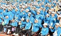 【障スポふくい】つないだ心、未来へ 福井県選手団430人が解団式 「融合」進んで/初めて家族が応援に/頑張る姿見せた