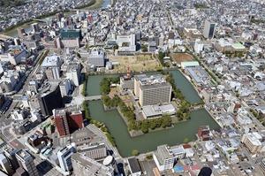 福井県福井市の中心市街地