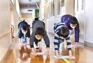 3月閉校の小学校、卒業生ら集い清掃