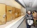 福井大留学生23人又兵衛の世界堪能 県立美術館
