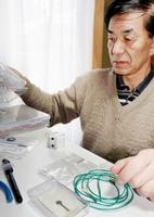 技術に関するコンサルティングを手掛ける川本さん。研究成果を生かした製品開発も進めている