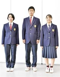 勝山高の制服「男女別」撤廃 生徒会主導で実現 多様性尊重、選択自由に ジャケット、スラックス、スカート…