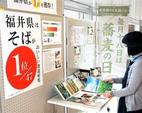 県立図書館など 関連書籍や史料展示