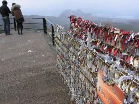 景観、「愛の鍵」ロマンチック!恋人の聖地