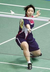 山口茜ストレート勝ちで4強入り