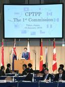 TPP拡大し自由貿易推進を