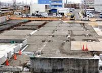 敦賀の駅前立体駐車場 供用2カ月遅れ6月に 市「資材調達遅れが原因」