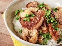 大根とお揚げの香ばし丼 簡単なごちそう お箸がすすむのっけめし(4)