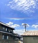 虹色真っすぐ、福井で環水平アーク
