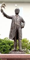 「コシヒカリの父」石墨慶一郎像