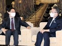 中国・駐名古屋総領事 コロナ後 交流期待 知事を表敬