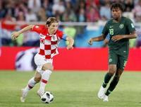 クロアチア2―0ナイジェリア