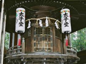 宝永・神明神社境内 明治時代建造物での市文化財