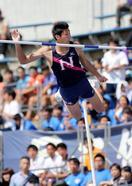 棒高跳び、江島が大会新で優勝