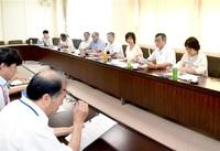 特急存続など70項目を要望 共産県委、県に