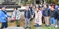 光秀 県内ゆかりの地 大河効果に「冷や水」 新型コロナ バスツアー客減 「越前編までに終息を」