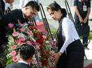 ミャンマー独立の英雄追悼