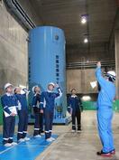 核燃料の中間貯蔵施設を現地調査