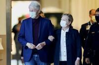 クリントン元大統領が退院