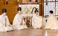 ご神体 年に一度の逢瀬 気比神宮常宮神社 敦賀で伝統「総参祭」