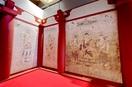 法隆寺金堂壁画 各国首脳、精度に驚き 甦る世界…
