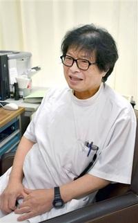 萩野正樹医師(今庄診療所長) 地域医療寄り添い20年 貢献奨励賞を受賞「住民の共生大切」