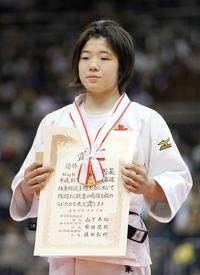 高校生古賀、地元で日本一 スポーツランド