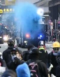 香港の日系企業4割「デモ影響」