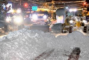 穴だらけだった福井県の除雪計画