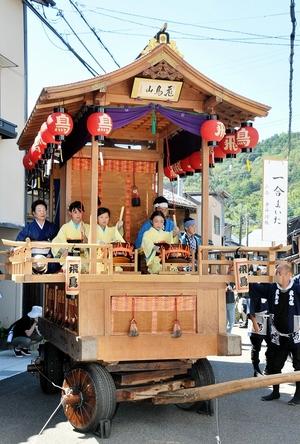 小浜で放生祭が開幕、市街…