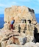立石(敦賀) 地域守る岩々あがめ 国文化財の灯…