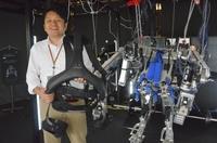 ロボスーツで力仕事楽々 脳の指令伝え歩行補助 ひと×デジタル 身体拡張(3)