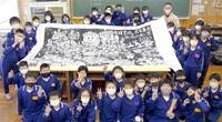 みんなで読もう 巨大版画に再会願い コロナで例年通り訪問できず… 武生東小児童 浜松の小学校送付へ