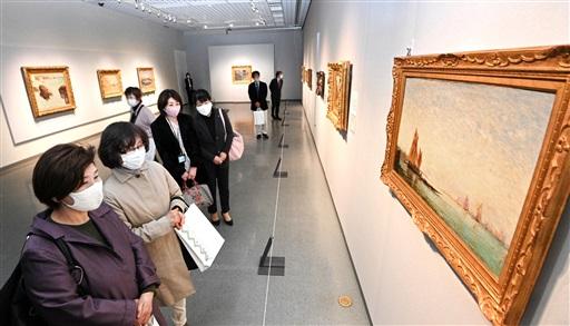 企画展「風景画のはじまり~コローから印象派へ」