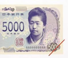 新紙幣の5千円札に使われる津田梅子の肖像