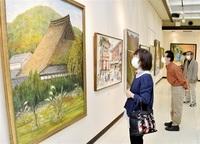 自然や人物多彩に具象画29点を展示 鯖江で示現会福井支部