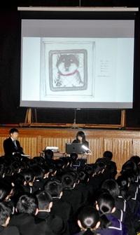 絵本と歌で道徳授業 生徒「命」に向き合う 「何ができる」思い巡らせ ペットと生きる(5)