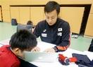 福井の教諭、パラ代表のプレー支援