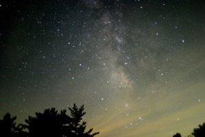 天の川・いて座付近(提供:福井県自然保護センター)