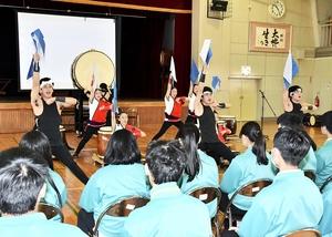 台湾の高校生、福井農林高…