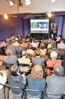 コワーキングスペースについて考えたトークイベント。場所よりも大切なのは人=4月5日、福井市中央1丁目のガレリア元町商店街