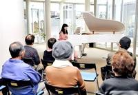 敦賀のピアニスト患者ら癒やす演奏 県済生会病院