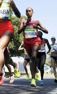マラソンでリオ銀キルワ資格停止