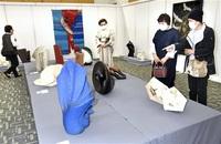 現代工芸、技凝らした美 美術家協福井会展 陶芸や木工 多彩
