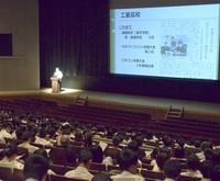 選択にポルトガル語 来春開校の武生商工高 地域性を考慮 説明会、560人が参加