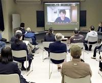 原発映画通し意見交換 鯖江の市民団体が勉強会 制作した都内高校生交え