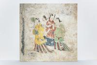 国宝・高松塚古墳壁画 西壁「飛鳥美人」複製を製作