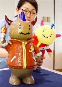2018福井しあわせ元気国体・大会 越前焼で「はぴりゅう」 県陶芸館 職員が制作、展示