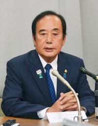 上田氏、参院埼玉補選に出馬表明