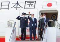 菅首相、米国訪問から帰国